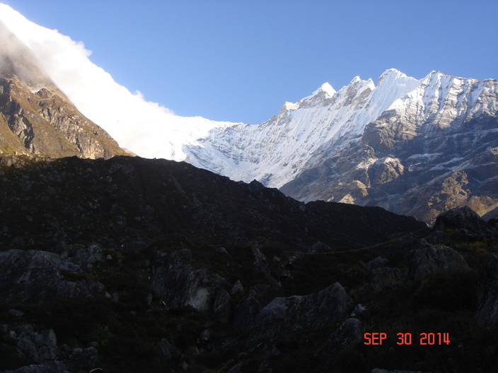 Langtang trek with Ganja la Pass trek