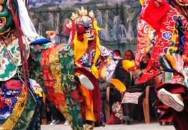 Tiji Festival in Lomonthang, Upper Mustsng