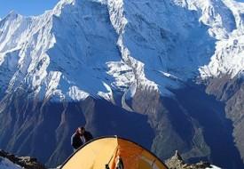 Singha Chuli/Fluted Peak climbing